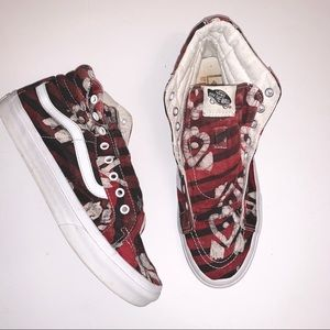 VANS | Red Sneakers Size 9